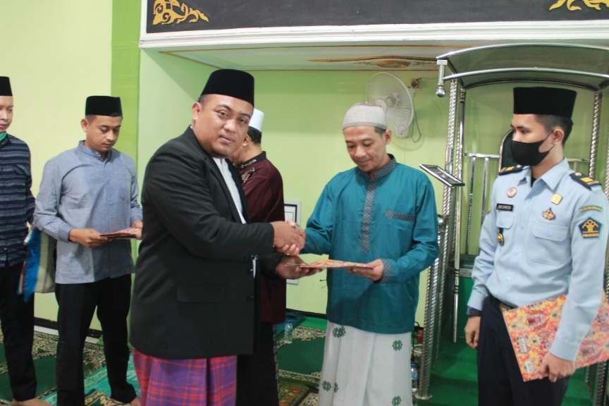 WBP Lapas Sidoarjo Terima Remisi Idul Fitri 1442 Hijriah Tahun 2021