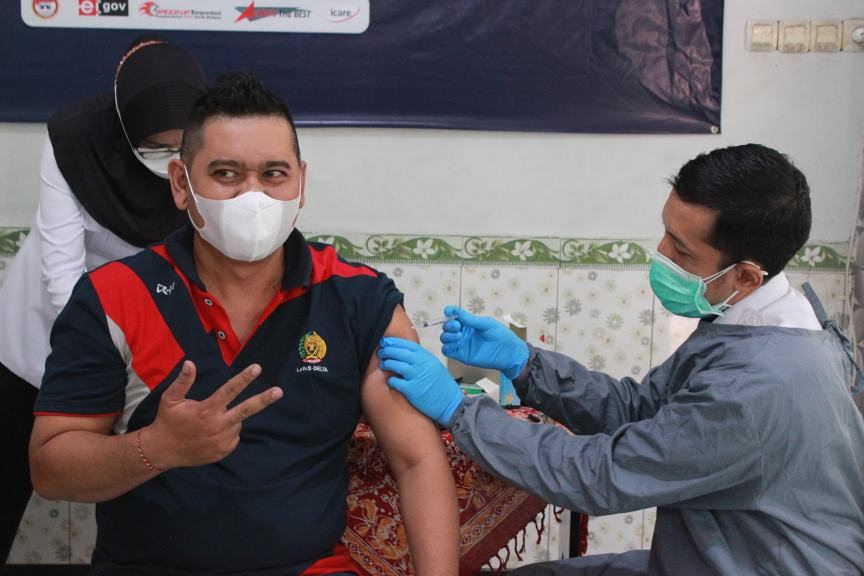 Lapas Sidoarjo Semakin Serius Melawan Covid 19 Melalui Vaksinasi
